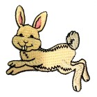 Applikation Patch Sticker Hase 7 x 7cm