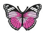 Applikation Patch Schmetterling 7,3x5,5cm Farbe: Fuchsia
