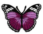Applikation Patch Schmetterling 7,3x5,5cm Farbe: Violett