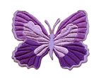Applikation Patch Schmetterling 7,3 x 5,5cm Farbe: Lila