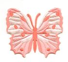 Applikation Patch Schmetterling 6,5 x 5,5cm Farbe: Orange