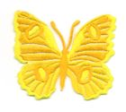 Applikation Patch Schmetterling 6,7 x 5,7cm Farbe: Gelb