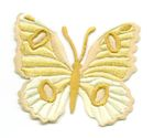Applikation Patch Schmetterling 6,7 x 5,7cm Farbe: Ocker