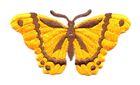 Applikation Patch Schmetterling 8,3 x 4,5cm Farbe: Orange