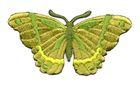 Applikation Patch Schmetterling 8,3 x 4,5cm Farbe: Hellgrün