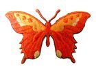 Applikation Patch Schmetterling 8,5 x 5,5cm Farbe: Terracotta