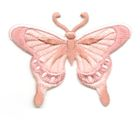 Applikation Patch Schmetterling 8 x 6cm Farbe: Altrosa