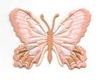 Applikation Patch Schmetterling 7,5 x 5,5cm Farbe: Altrosa