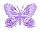 Applikation Patch Schmetterling 7,5 x 5,5cm Farbe: Flieder