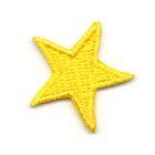 Applikation Sticker Stern 2,2 x 2,2cm Farbe: Gelb