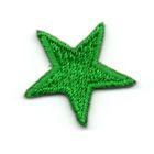 Applikation Sticker Stern 2,2 x 2,2cm Farbe: Grün