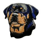 Applikation Patch Hund Rottweiler 6,5 x 6,5cm