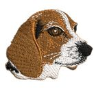 Applikation Patch Hund Beagle 6,5 x 5,5cm