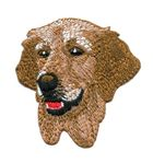 Applikation Patch Hund Golden Retriever 6,5 x 6,5cm
