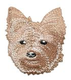 Applikation Patch Hund Yorkshire Terrier 6,5 x 7cm