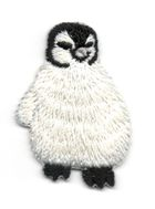 Applikation Patch Bügelbild Pinguin 3,1 x 4,7cm