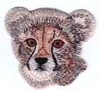 Applikation Patch Bügelbild Gepard 7,5 x 7cm