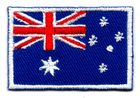 1 Aufnäher Sticker Patch Flagge Australien 4, x 3 cm