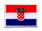 Applikation Sticker Patch Flagge Kroatien 4,6x3,2cm