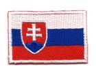 Applikation Sticker Patch Flagge Slowakei 4,4x3cm