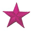 Applikation Sticker Stern  4,3 x 4,3cm Farbe: Fuchsia