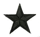 Applikation Sticker Stern  4,3 x 4,3cm Farbe: Schwarz