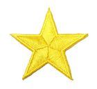 Applikation Sticker Stern  4,3 x 4,3cm Farbe: Gelb