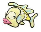 Applikation Patch Sticker Fisch 7 x 5cm