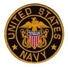 Aufnäher Bügelbild Applikation TopGun United States Navy  7 x 7cm