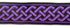 10m Mittelalter Borte Webband 20mm breit Farbe: Lila