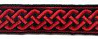 10m Mittelalter Borte Webband 20mm breit Farbe: Rot