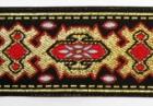 10m Brokat Borten Webband 35mm breit