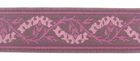 10m Mittelalter Borte Webband 35mm breit Farbe: Violett
