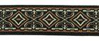 10m Mitelalterborte 20mm breit Braun-Beige-Schwarz