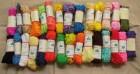 580m Borten-Konvolut Zackenlitze Zick-Zack-Borte 29 Farben 5mm breit