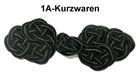 1 Paar Posamentenverschlüsse Farbe: schwarz